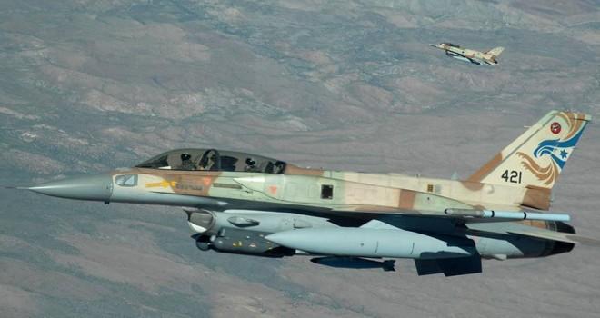 Suriye'ye saldırı düzenleyen İsrail'in savaş uçağı düştü