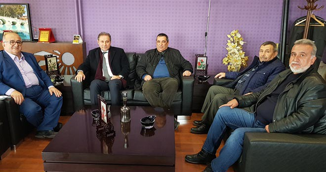Karabacak'tan  Büsan'a ziyaret