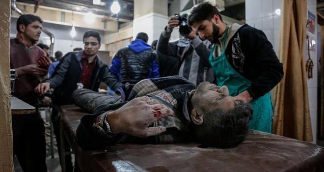Esed rejimi Doğu Guta'da sivilleri vurdu: 30 ölü