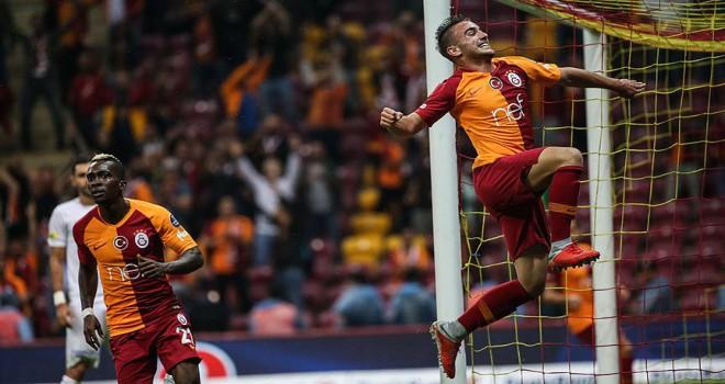 Galatasaray ikinci yarıda coşuyor