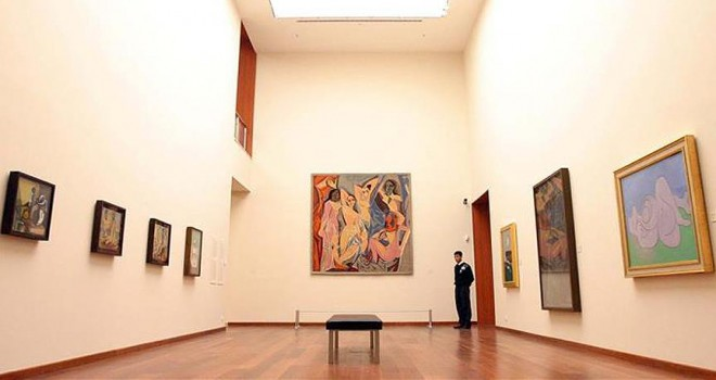Picasso'nun 'Altın Meşe' tablosuna rekor fiyat