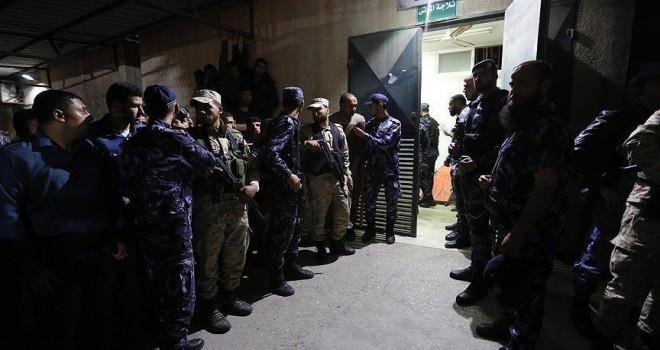 Gazze'de 6 Kassam Tugayları mensubu için cenaze töreni düzenlendi