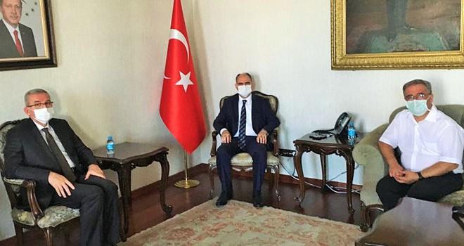 Tabip Odası'ndan Vali Özkan'a ziyaret
