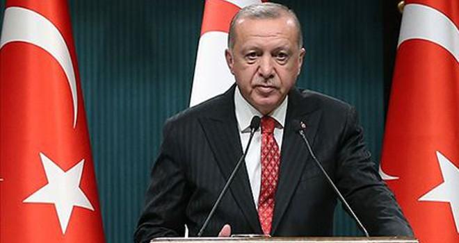Cumhurbaşkanı Erdoğan: Doğu Akdeniz'de arama çalışmalarına aynı kararlılıkla devam edeceğiz