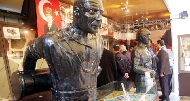 Çanakkale Gezici Müze sergisi M1'de