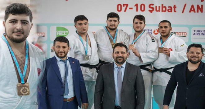 Judoculardan 1 altın, 2 bronz