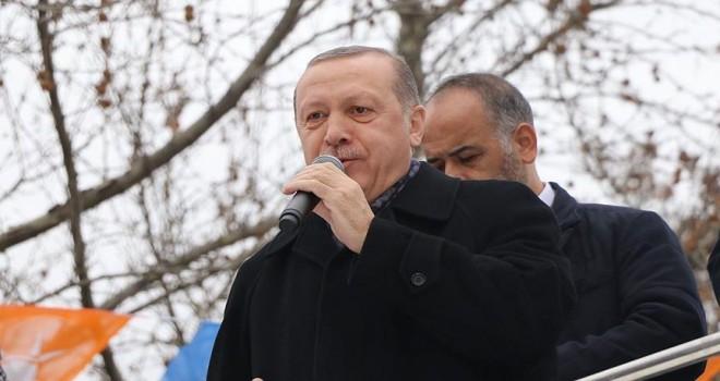 Cumhurbaşkanı Erdoğan Tokat'ta konuştu