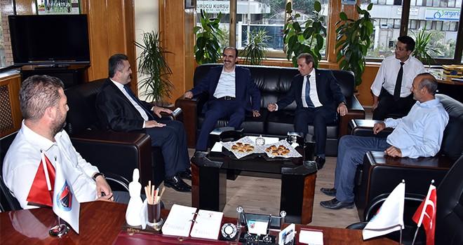 Altay'dan, oda  başkanlarına ziyaret