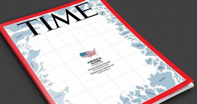 Time dergisi ABD'nin yalnızlığını resmetti