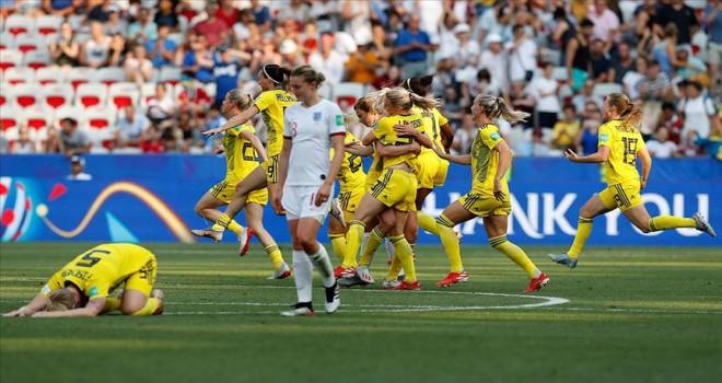 Kadınlar Dünya Kupasının üçüncüsü İsveç