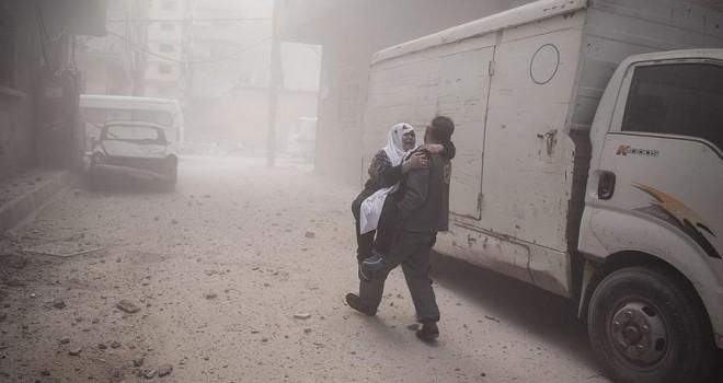 ABD'den Esed rejimi ve Rusya'ya Doğu Guta için kınama
