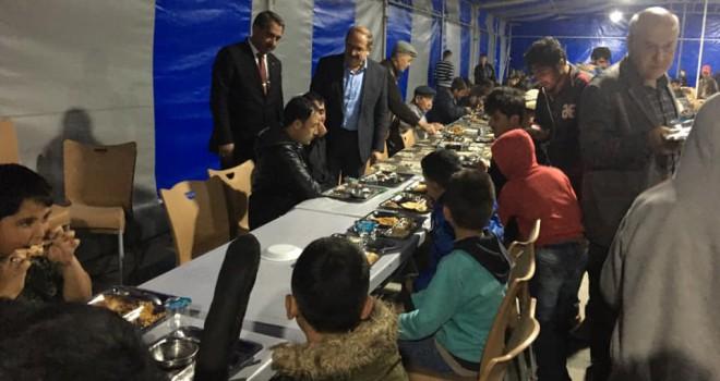 Karapınar'da iftar