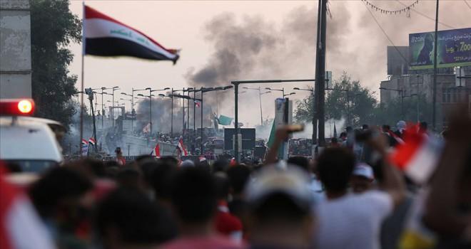 Irak'ta baro ve işçi sendikaları konfederasyonu da protestolara katılıyor