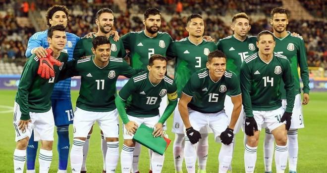 2018 FIFA Dünya Kupası'nda F Grubu: Meksika