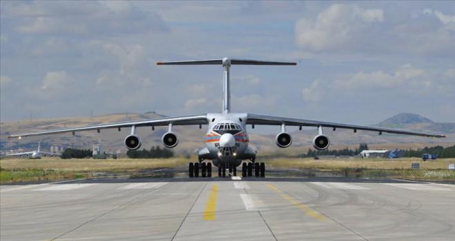 S-400 sevkiyatı kapsamında 7. uçak Mürted'e indi