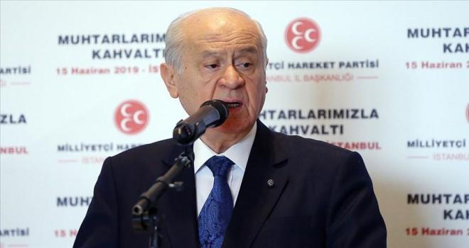 Bahçeli: Türkiye S-400'ü alacak ve konuşlandıracaktır