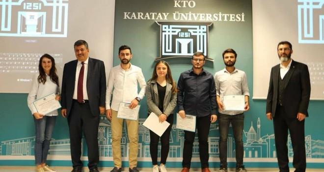KTO Karatay'da 'YılınEnleri' ödüllendirildi