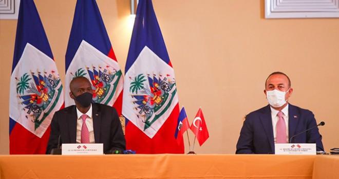Türkiye ve Haiti arasında 7 anlaşma imzalandı