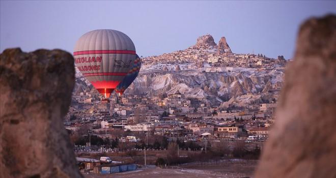 Kapadokya'yı ilk ayda 159 bin turist ziyaret etti