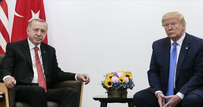 Erdoğan, ABD Başkanı Trump ile telefonda görüştü