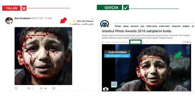 PKK, AA'dan ödüllü fotoğrafı da yalanına alet etti