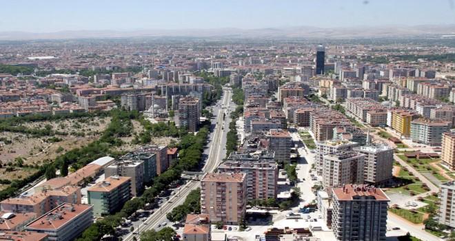 Konya'da konutsatışları azaldı