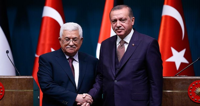 Abbas'dan Cumhurbaşkanı Erdoğan'a anlamlı davet