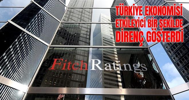Türkiye ekonomisi etkileyici bir şekilde direnç gösterdi