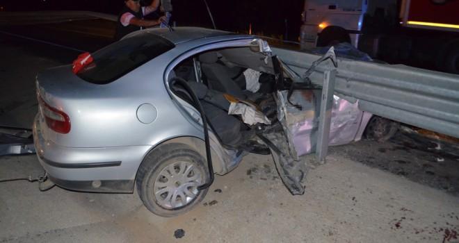 Ilgın'da feci kaza