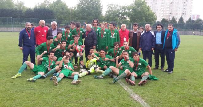 Konya'da şampiyon Diyarbakır