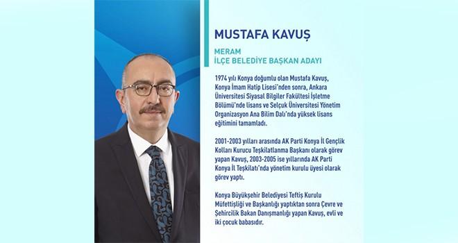 Meram AK Parti adayı Mustafa Kavuş kazandı