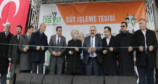 DSYB Süt İşletme Tesisi açıldı
