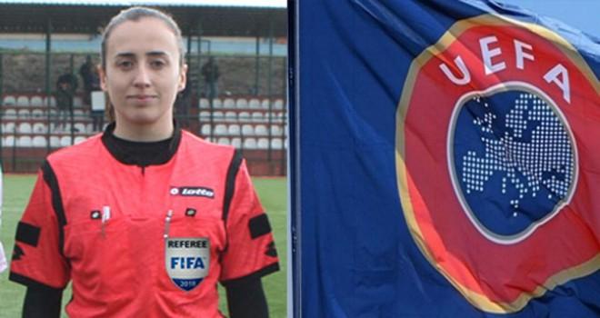 Cansu Tiryaki'ye UEFA'dan görev