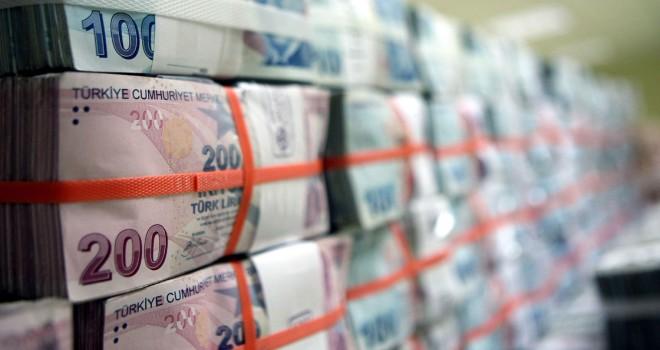 Bankacılık sektörünün aktif büyüklüğü 3,9 trilyon lira oldu