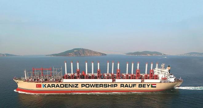 Türk enerji gemisi Sudan'da elektrik üretimine başladı