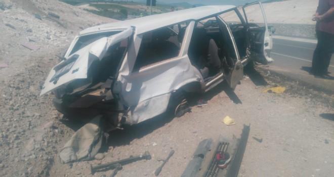 Beyşehir'dekaza: 3 yaralı