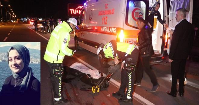 Otomobilin çarptığı üniversiteli kız öldü