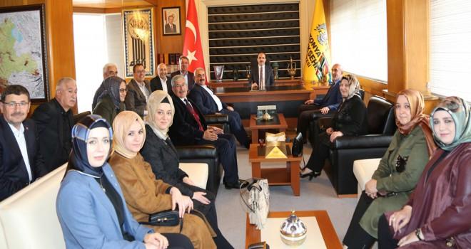 AK Parti ve MHP'den Başkan Altay'a ziyaret
