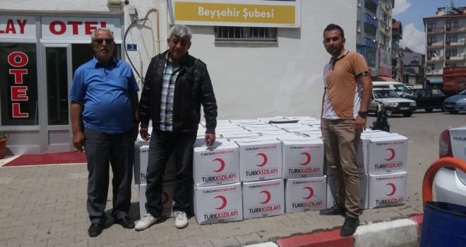 Kızılay'dan Ramazan yardımı