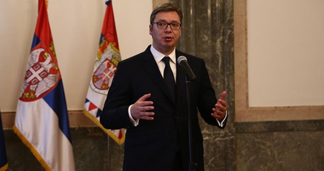 Vucic: Türkiye ile siyasetten ekonomiye birçok ortak konumuz var
