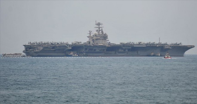 İran'dan ABD'nin uçak gemili gözdağına tepki