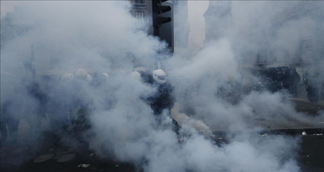 Emeklilik reformu protestolarına katılım 500 bini buldu