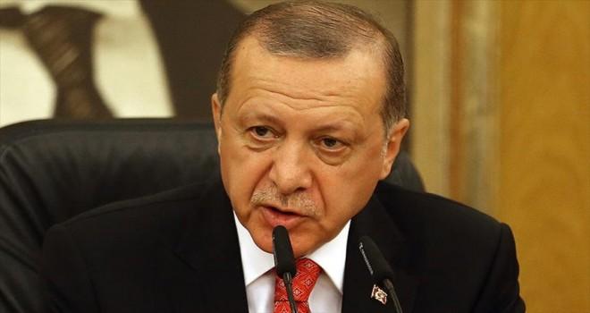 Cumhurbaşkanı Erdoğan: 50 tırlık yardım konvoyu Habur'dan Irak'a giriş yaptı