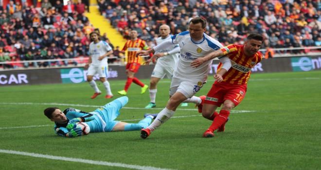 Spor Toto Süper Lig: İstikbal Mobilya Kayserispor: 0 - MKE Ankaragücü: 2