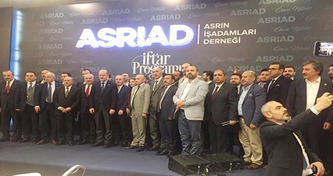 ASRİAD İstanbul'da  iftarda biraraya geldi