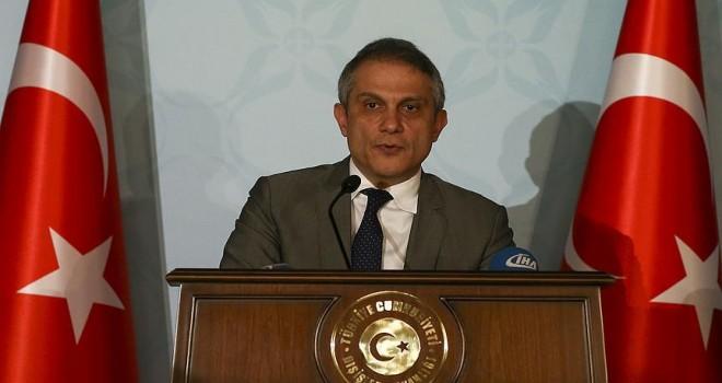 Dışişleri Bakanlığı Müsteşarı Yalçın 30 Mart'ta ABD'ye gidiyor