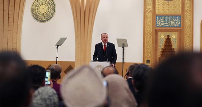 Erdoğan Cambridge Camii'nin açılışını yaptı