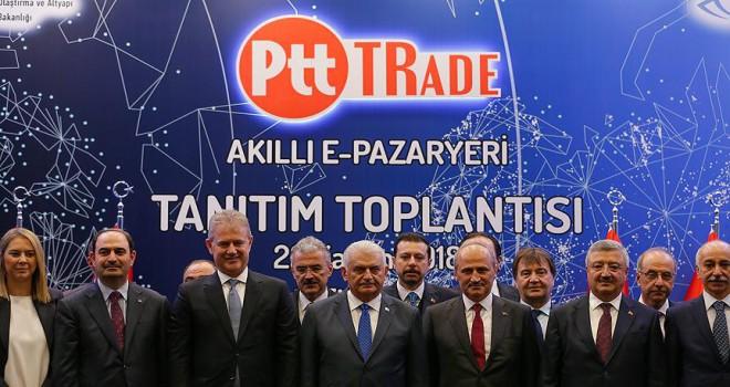 PTT 'akıllı pazar yerini' tanıttı
