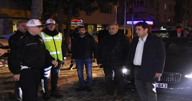 Konya'da yeni yılın ilk trafik cezası ehliyetsiz sürücüye kesildi