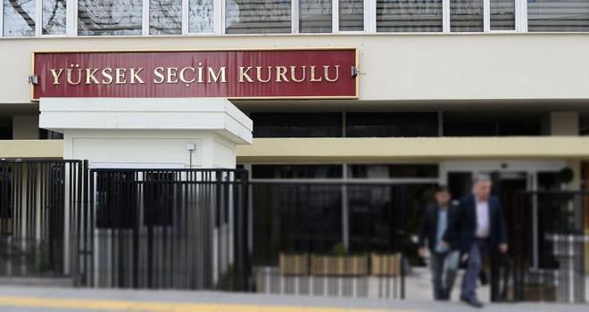 Îşte AK Parti'nin  YSK'ya sunduğu liste